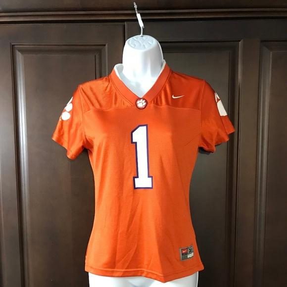 Clemson University Orange Nike Football Jersey Xs